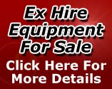 Ex-Hire Equipment For Sale